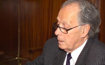 El Dr. Alberto Portera, Premio Bianual Dr. Grau Veciana 2016