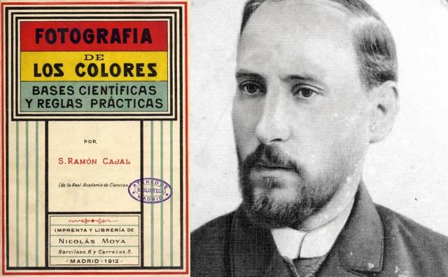 Cajal y La fotografía de los colores
